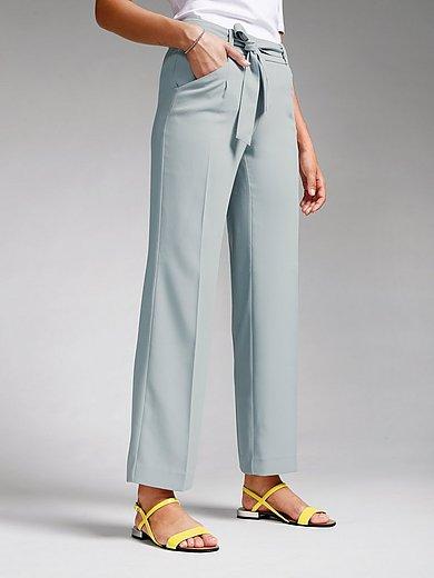 comma, - Le pantalon avec ceinture à nouer