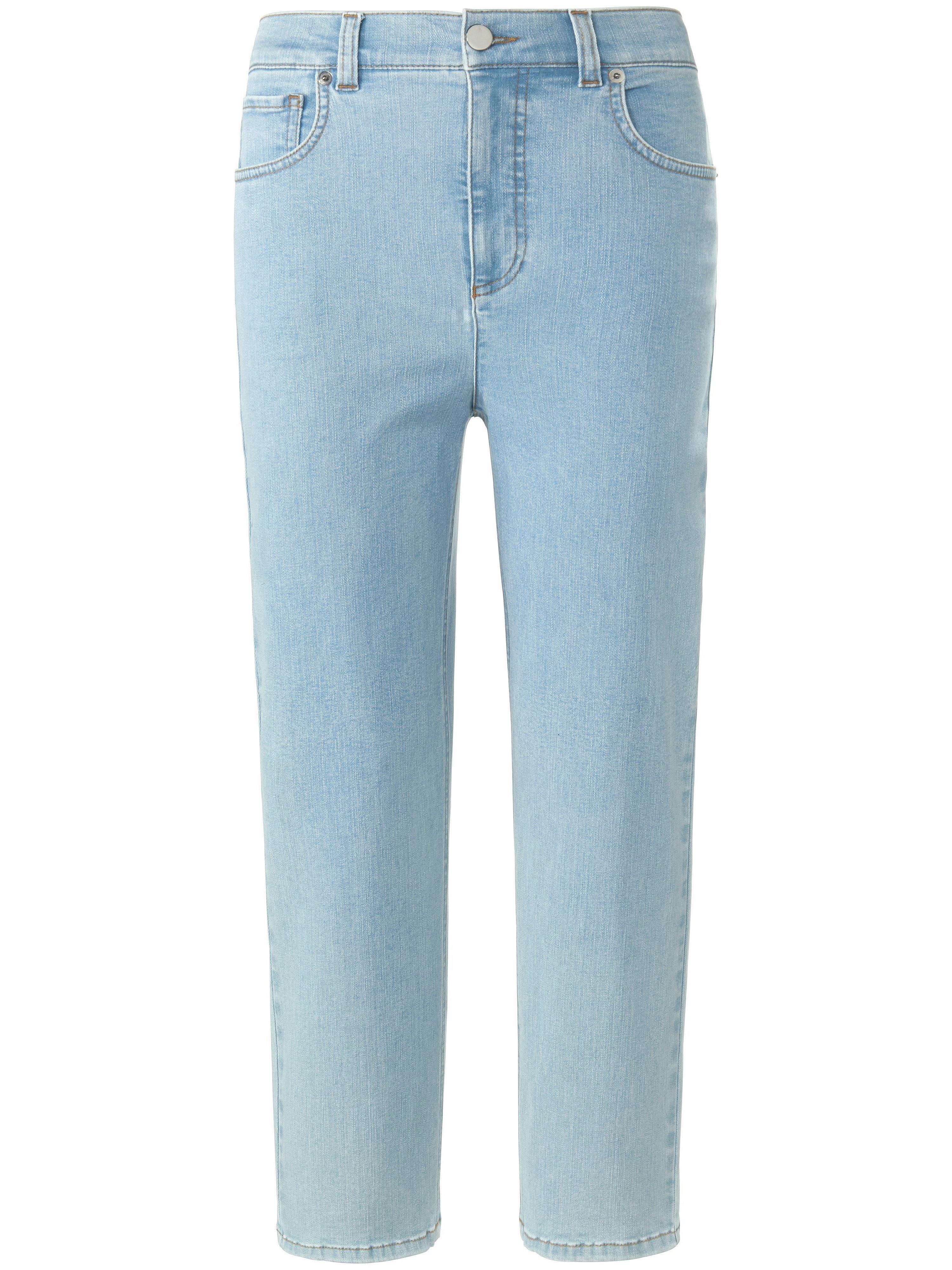 7/8-jeans model Barbara wijdere taille Van Peter Hahn denim