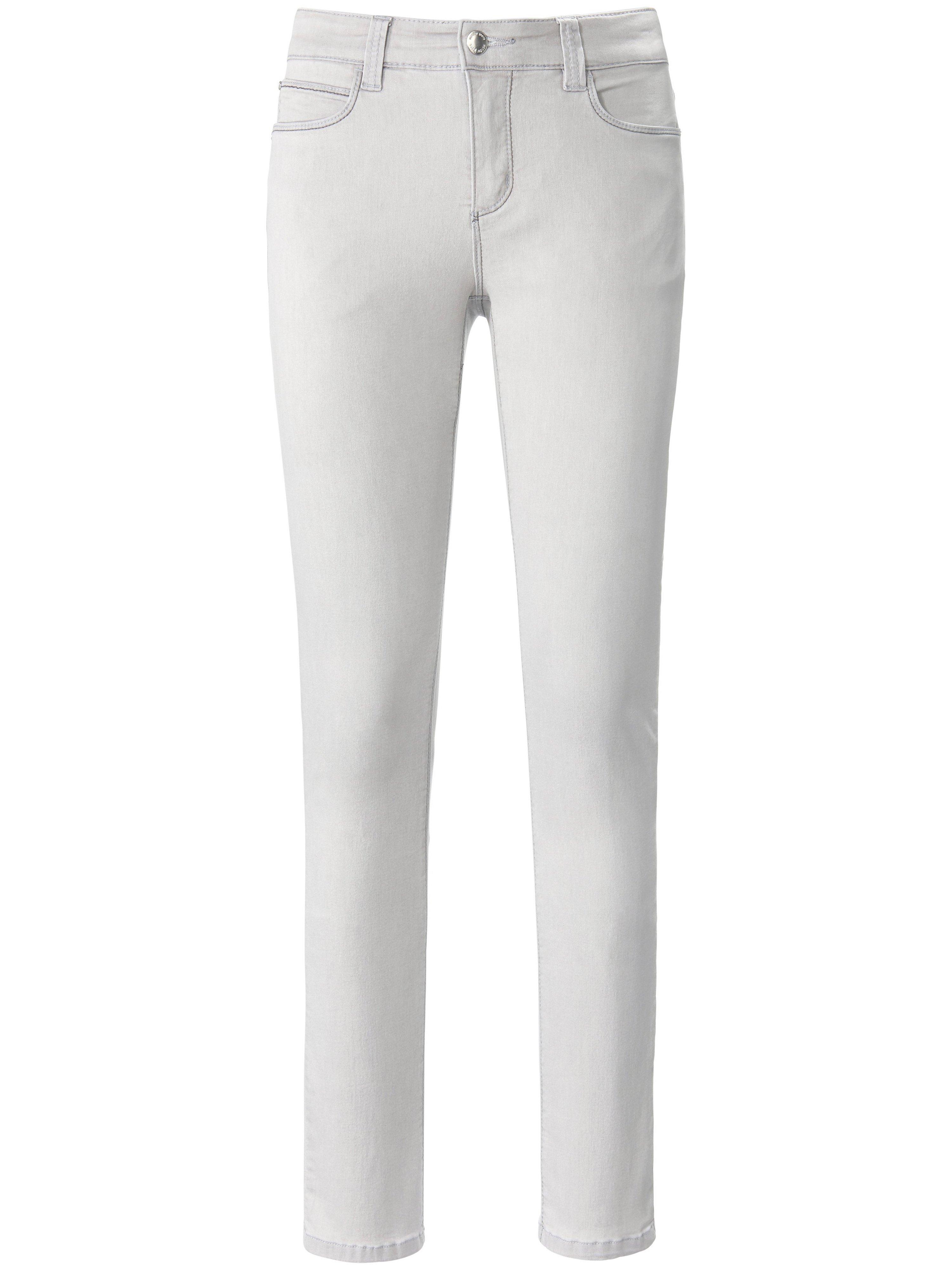 Wonderjeans in 5-pocketsmodel Van Looxent grijs