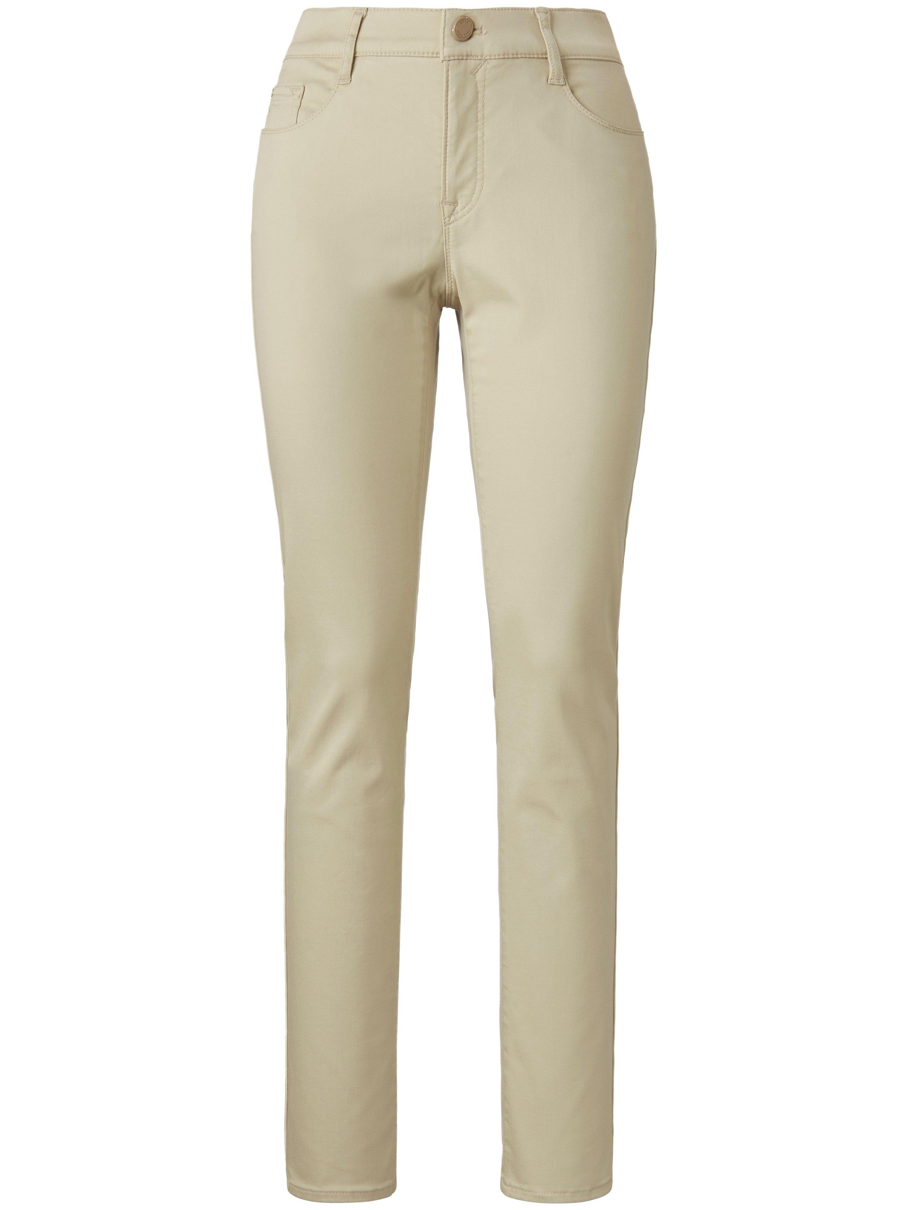 Slim Fit-broek model Mary Van Brax Feel Good beige