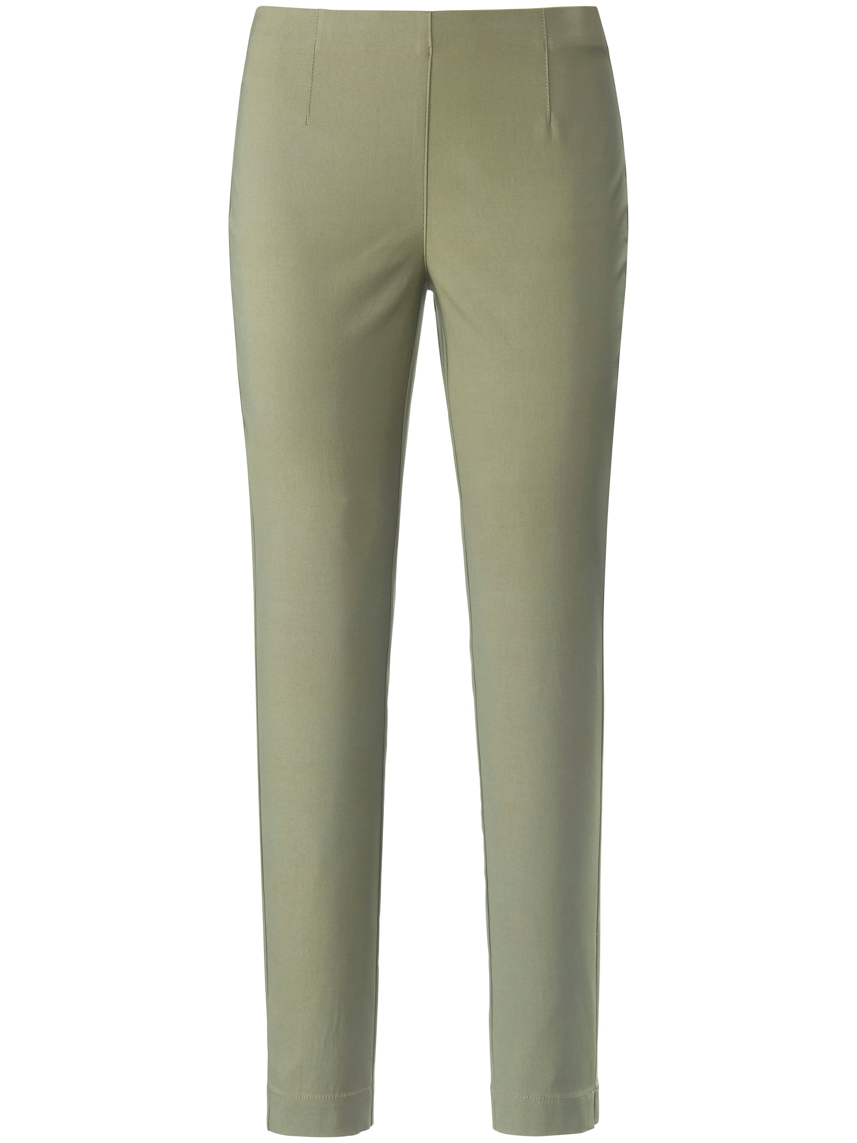 Ankle-length pull-on trousers Sylvia fit Peter Hahn green
