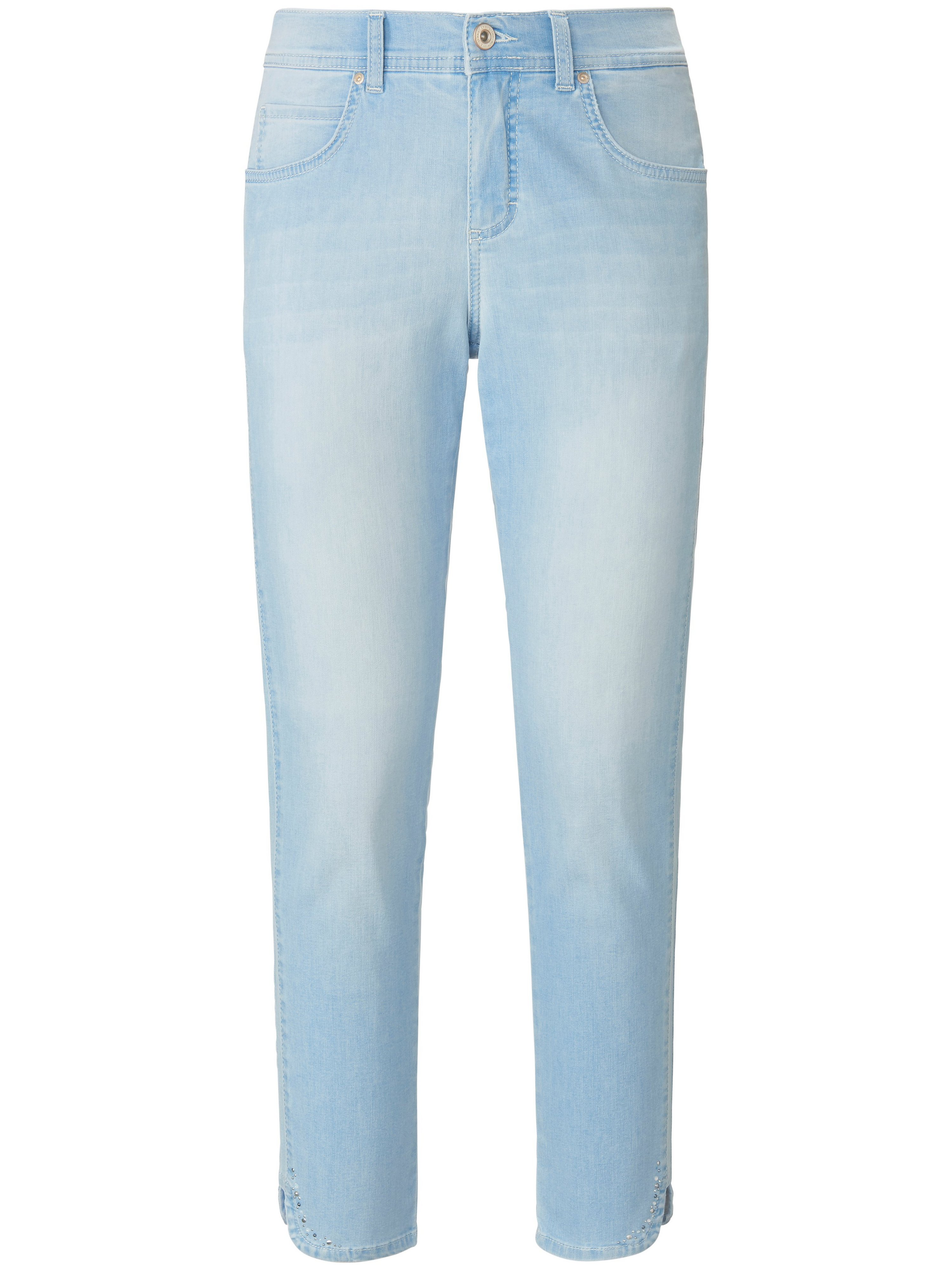 Slim fit 7/8-length jeans design Ornella Sparkle ANGELS denim