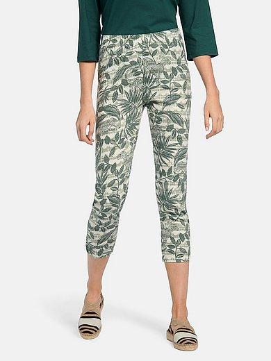 Green Cotton - 7/8-broek van 100% katoen met zijsplitten