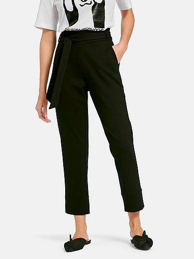 Margittes - Ankle-length jersey trousers with skinny leg