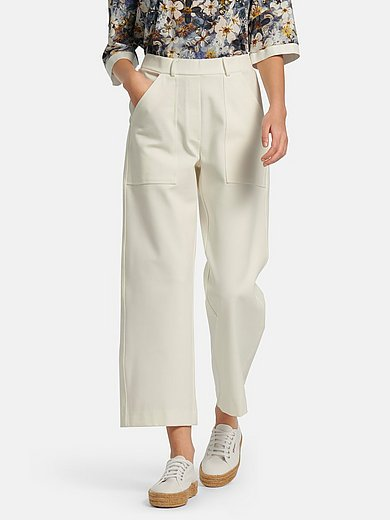 Margittes - Le pantalon en jersey avec ceinture élastiquée