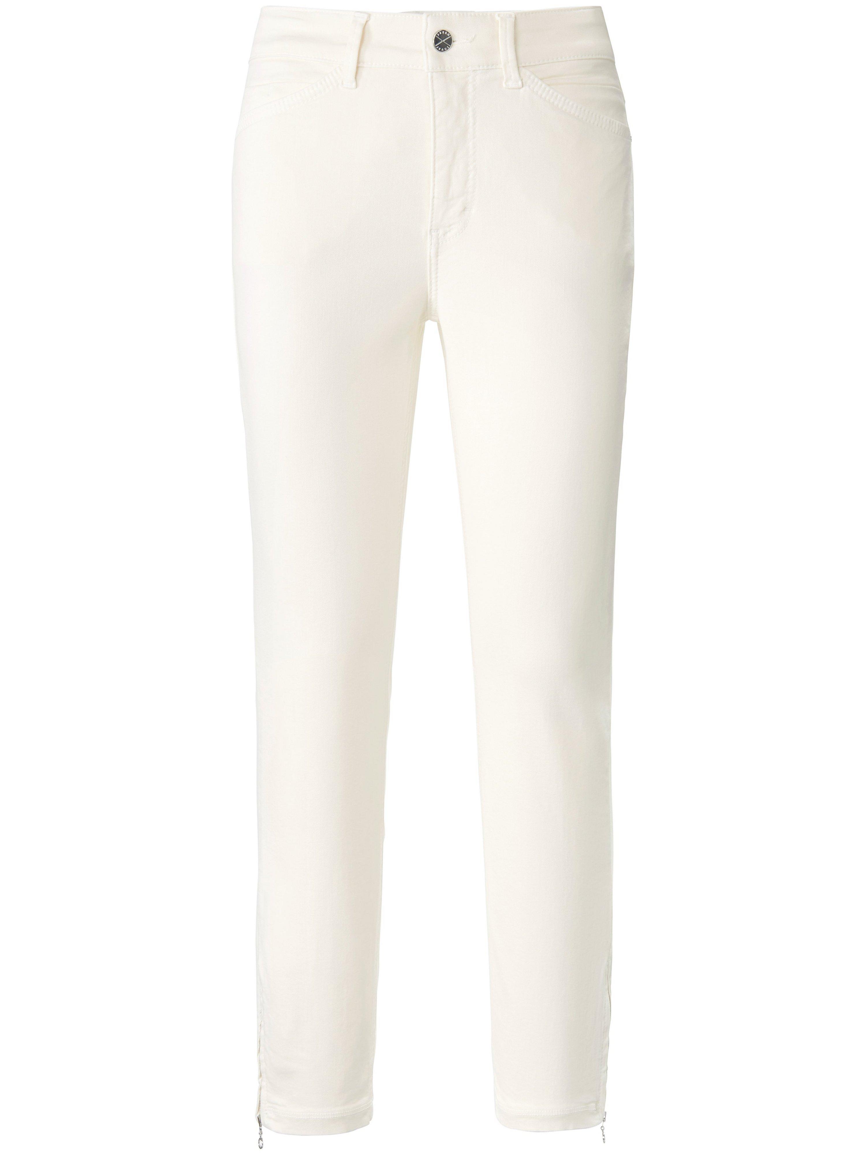 Jeans Dream Chic extra smalle pijpen Van Mac wit