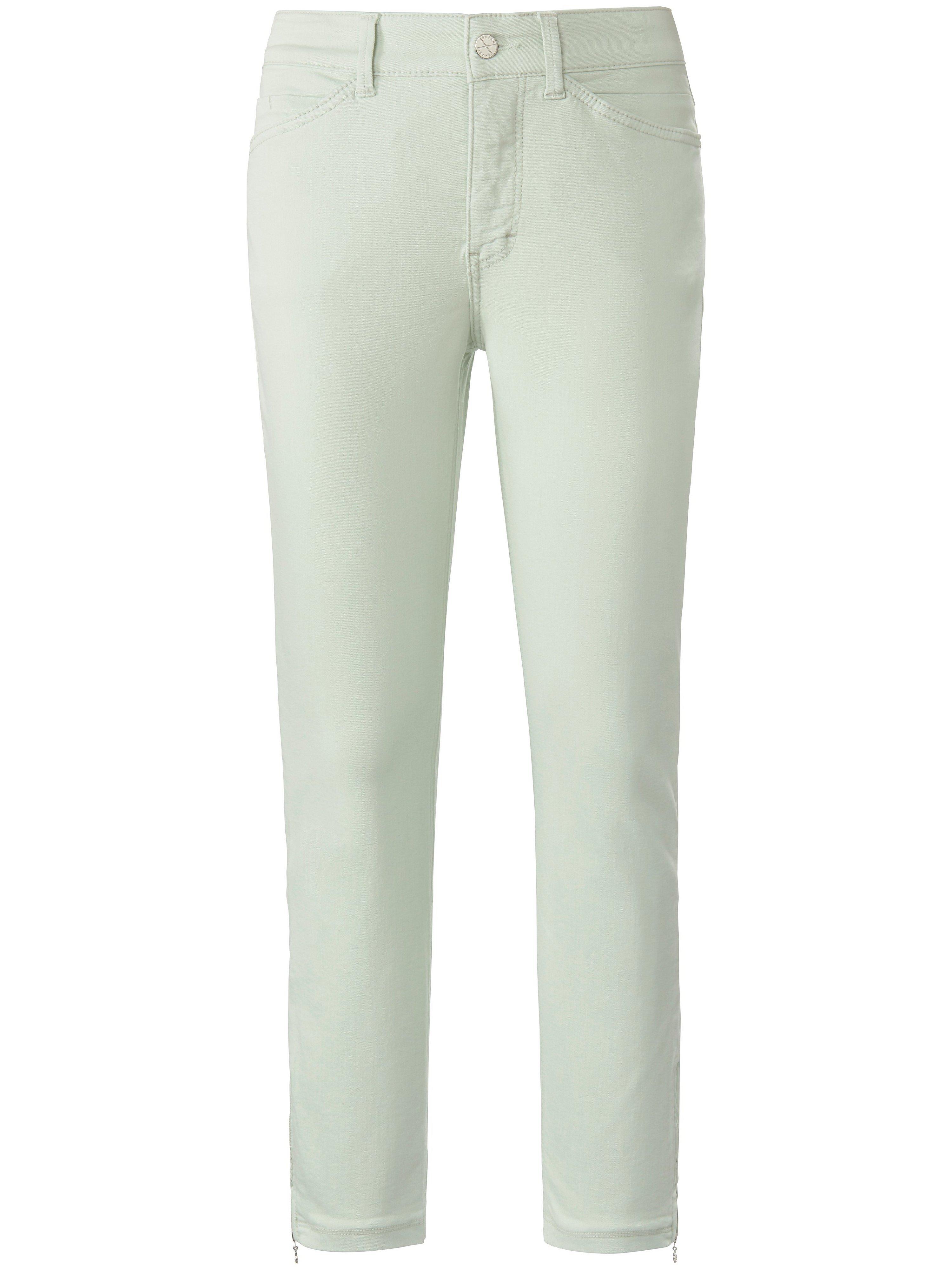 Jeans Dream Chic extra smalle pijpen Van Mac groen