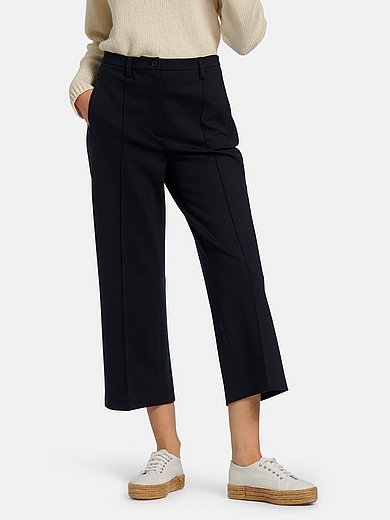 tRUE STANDARD - 7/8-length jersey trousers with wide leg