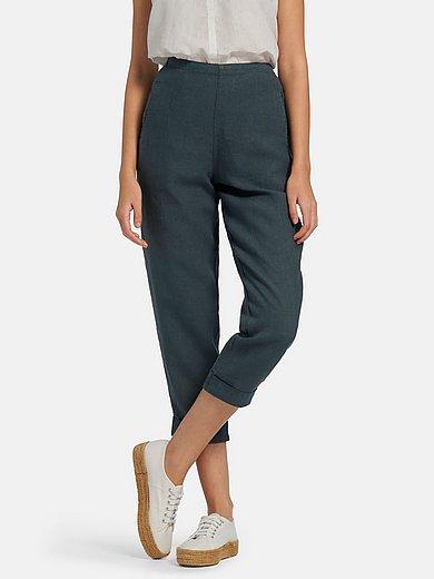 elemente clemente - 7/8-broek van 100% linnen met elastiek achter