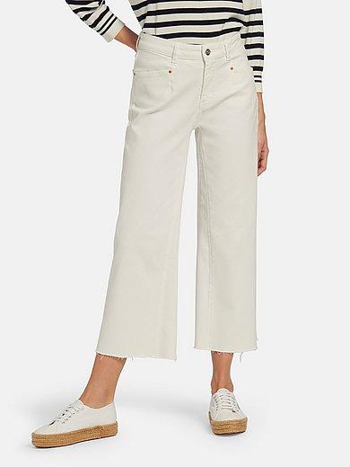 oui - 7/8-jeans med raka ben