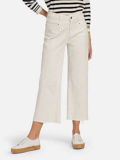oui - 7/8-length jeans in 4-pocket style