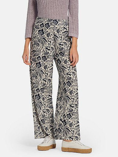 oui - Jersey pull-on style trousers
