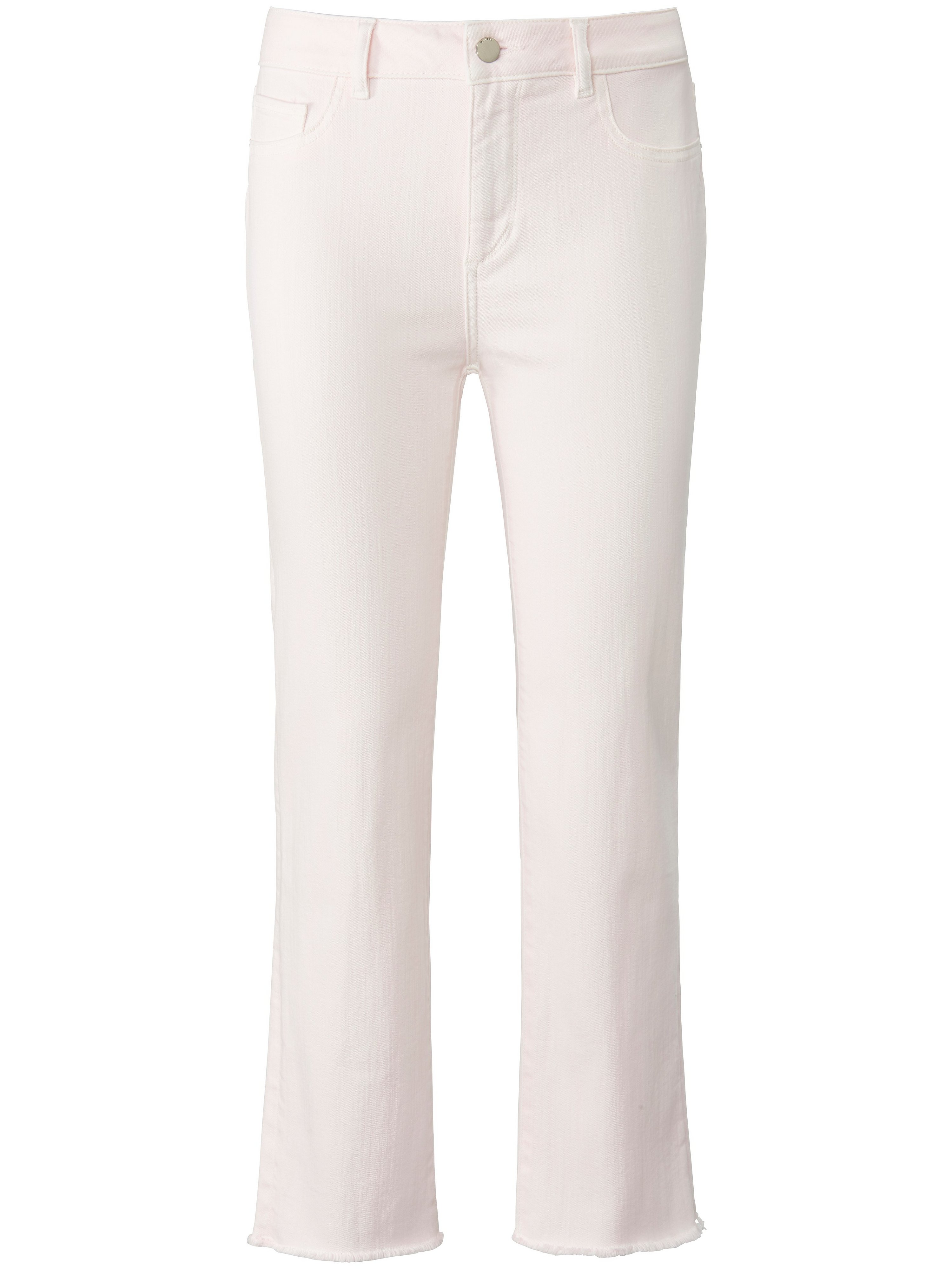 7/8-jeans Daydream model Mara Straight Mid Rise Van DL1961 lichtroze