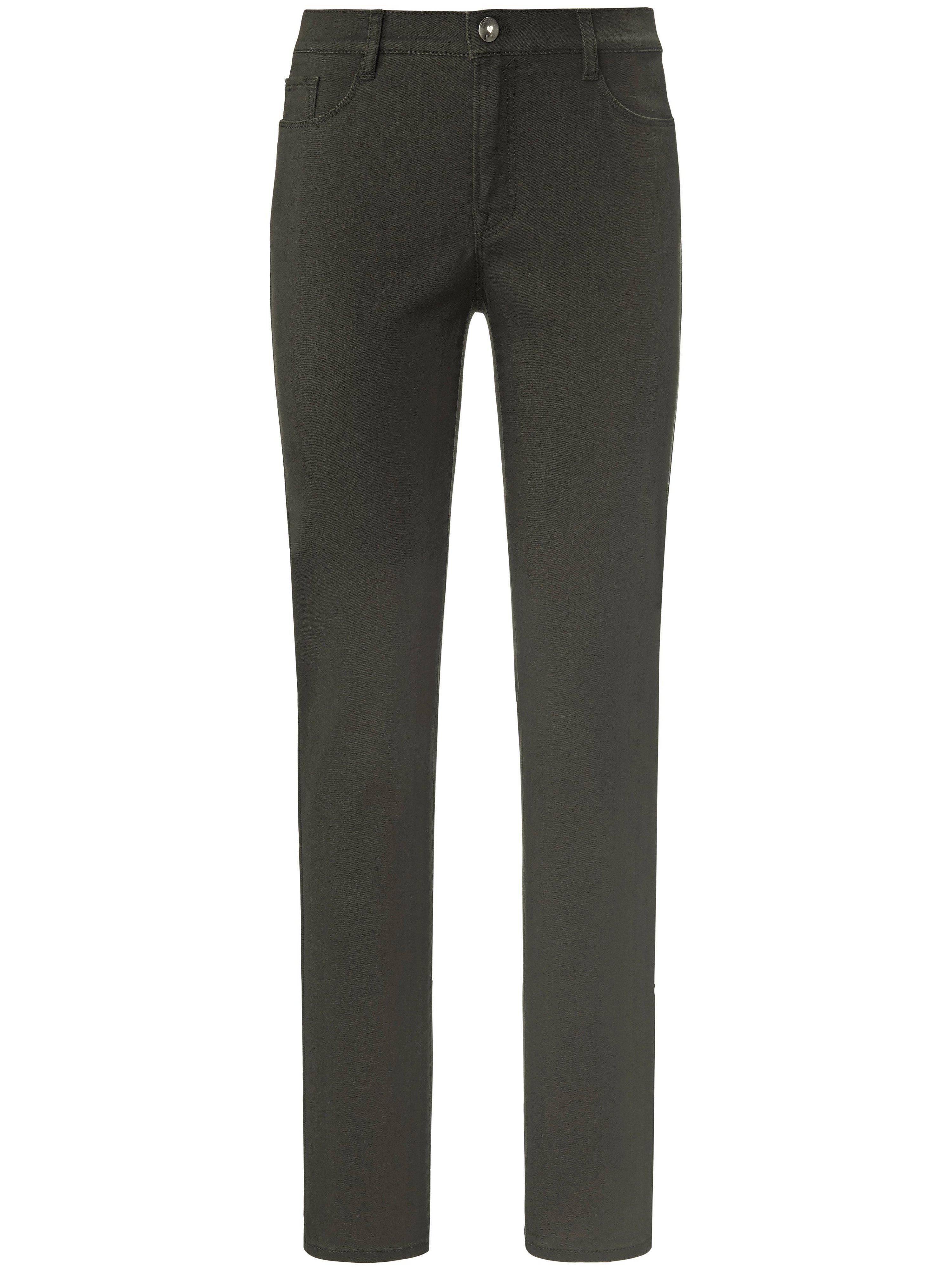 Feminine Fit-jeans model Nicola Van Brax Feel Good groen