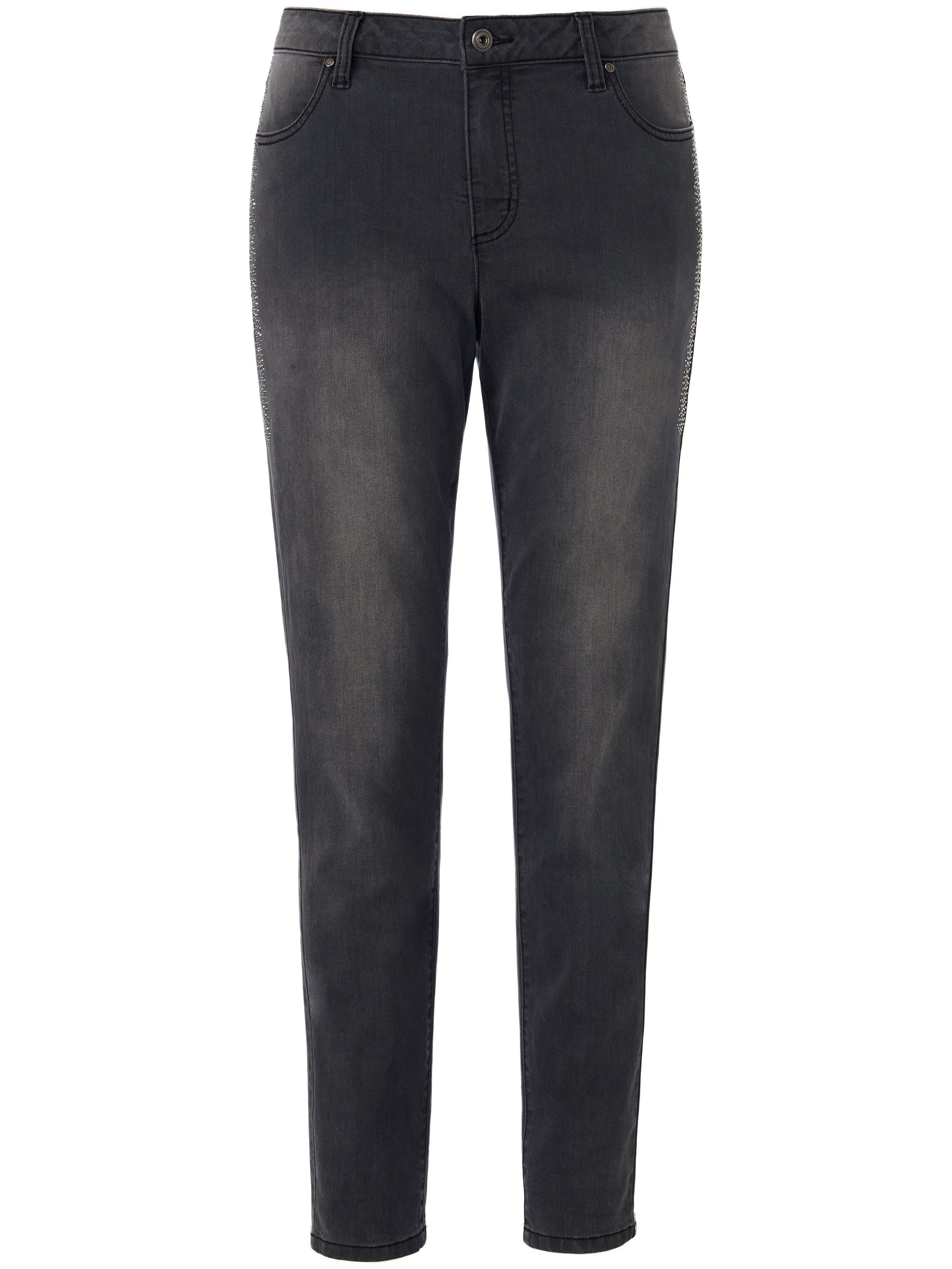 Jeans smalle, rechte pijpen Van Emilia Lay grijs