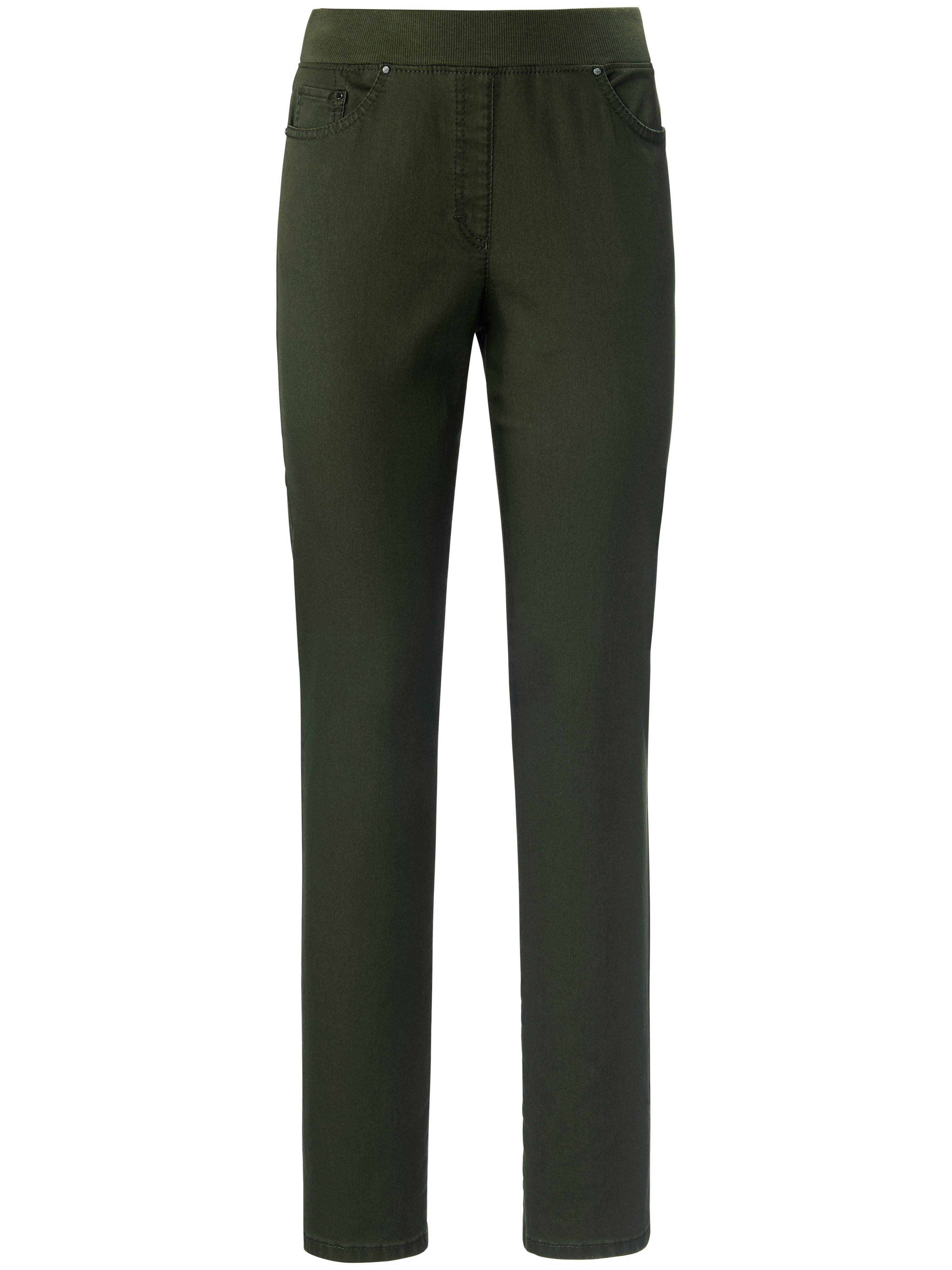 Comfort Plus-jeans model Carina Van Raphaela by Brax groen