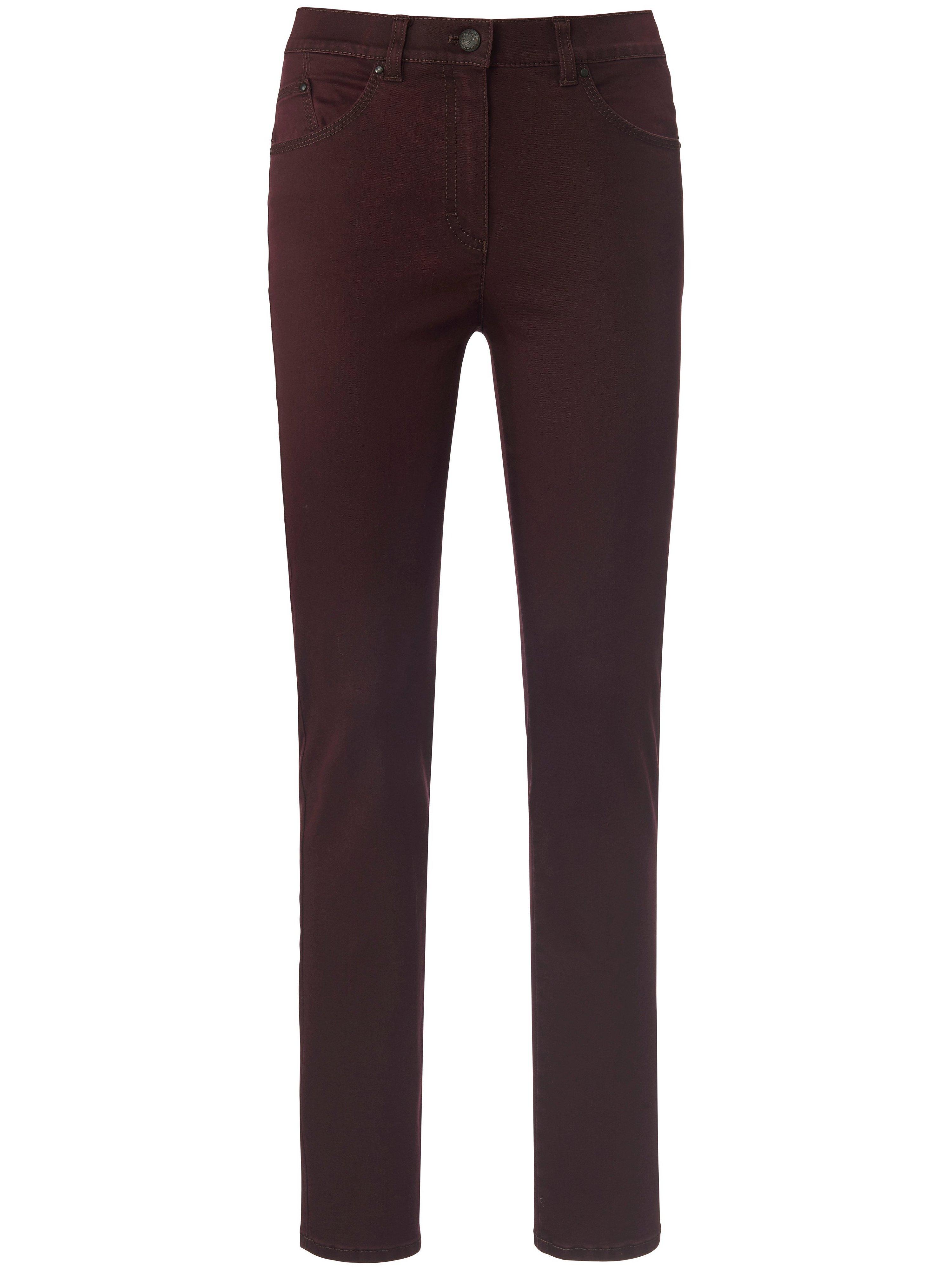 Corrigerende Proform S Super Slim-jeans model Lea Van Raphaela by Brax rood