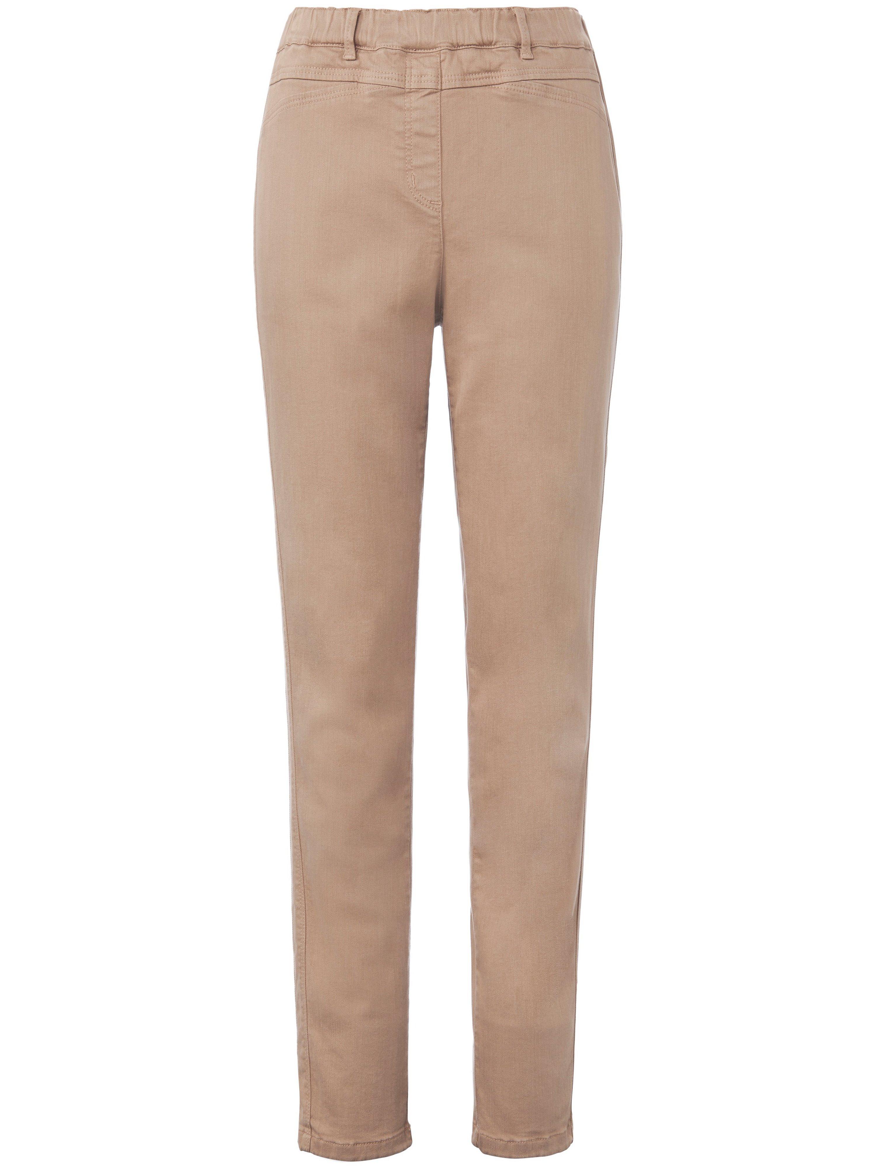 Jeans smalle pijpen Van Anna Aura beige