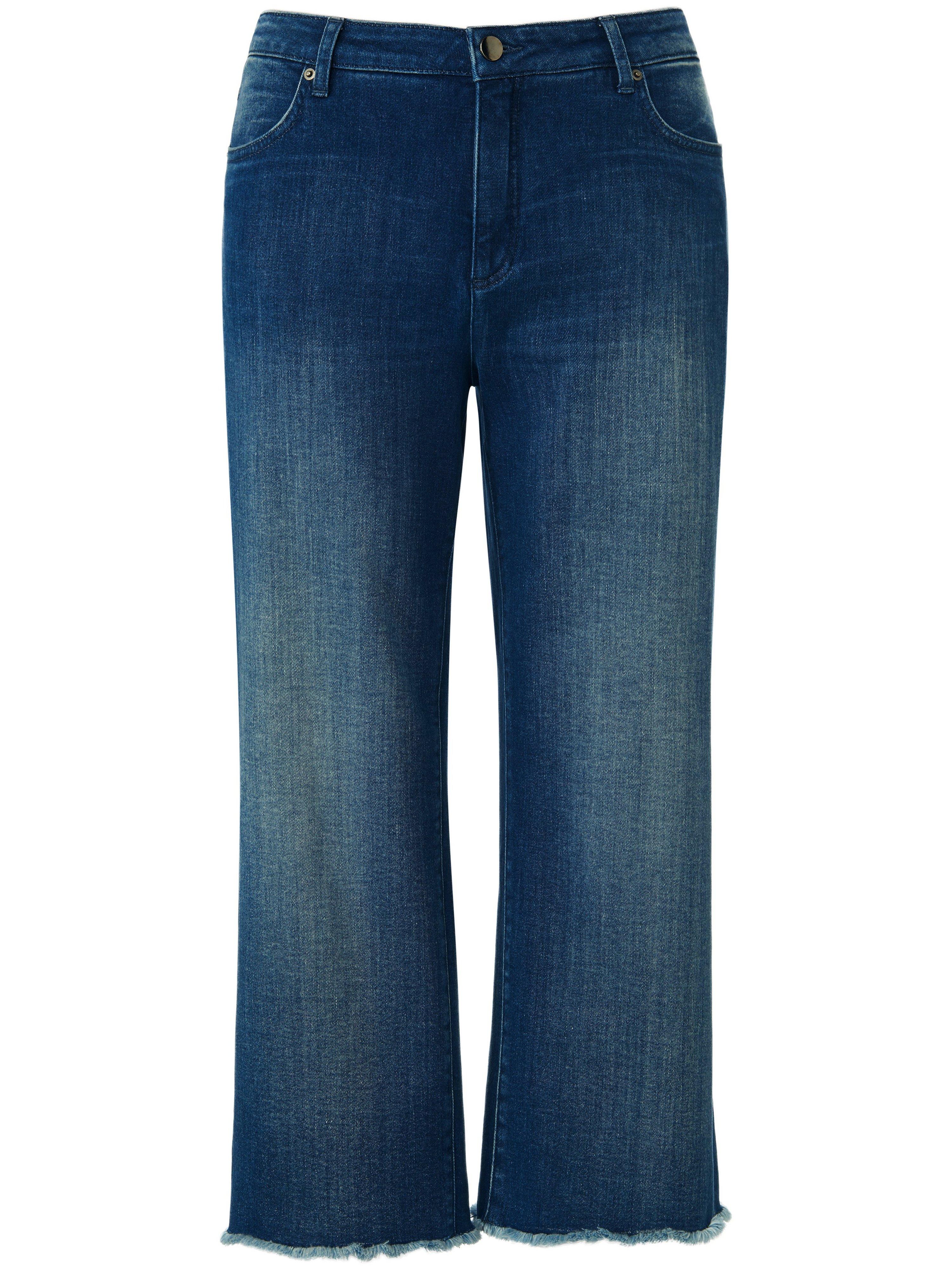 Jeansbroekrok 5-pocketsstijl Van Emilia Lay denim