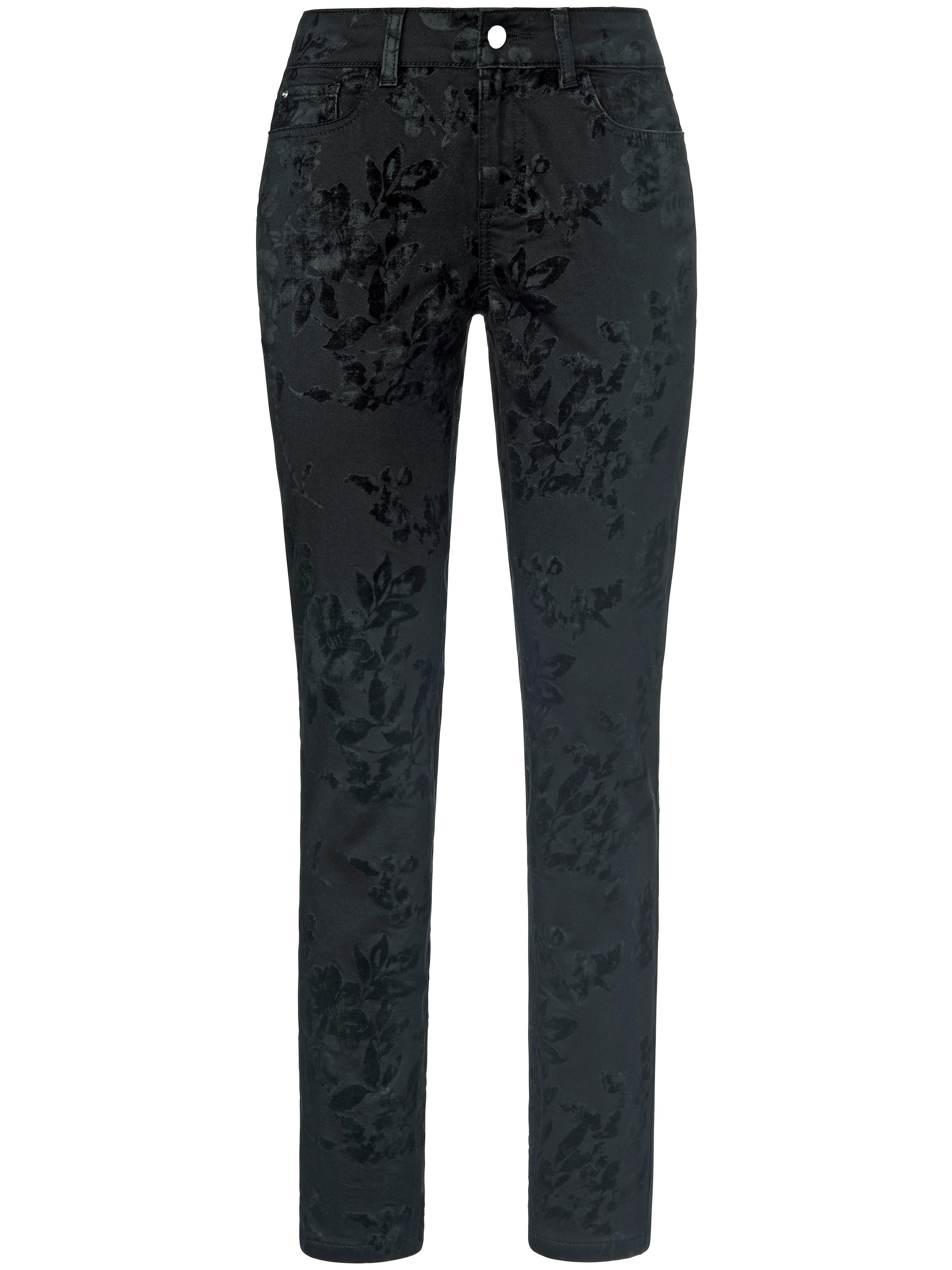 Jeans flockprint Van TALBOT RUNHOF X PETER HAHN zwart