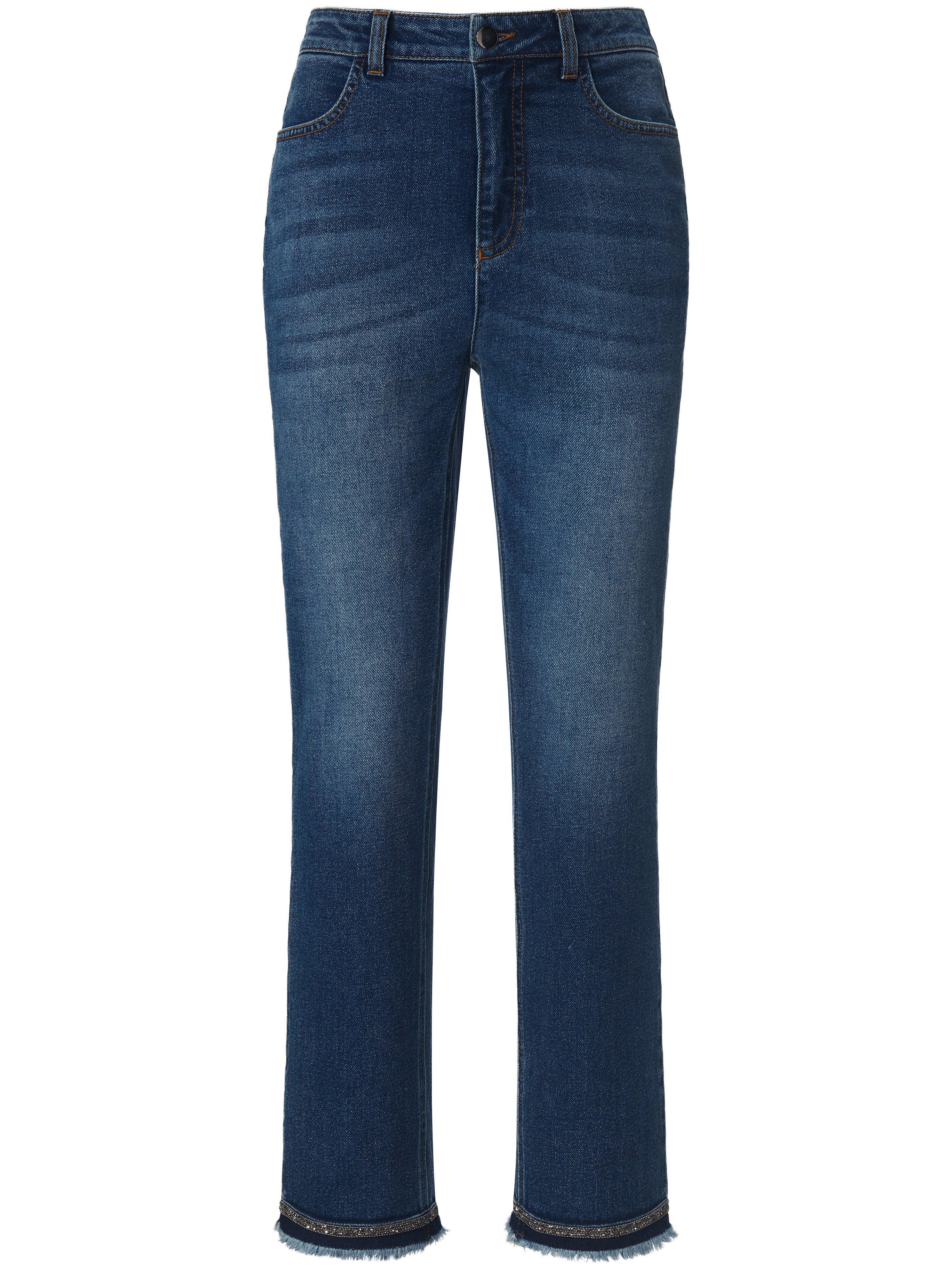 Enkellange jeans pasvorm Barbara Van Peter Hahn denim