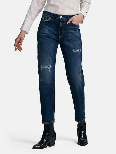 Joop! - Worn look ankle-length jeans