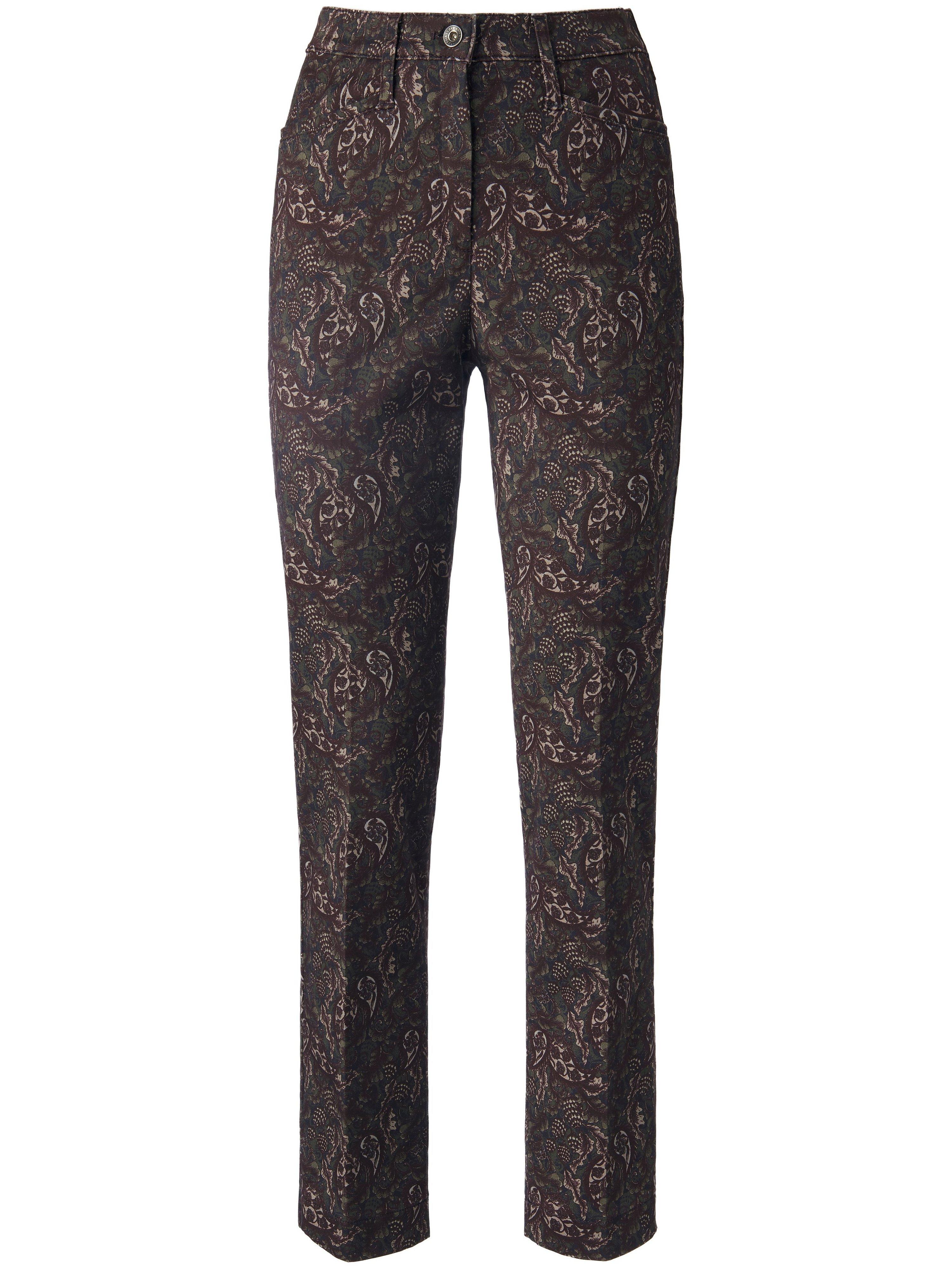Enkellange ProForm S Super Slim-broek Van Raphaela by Brax bruin