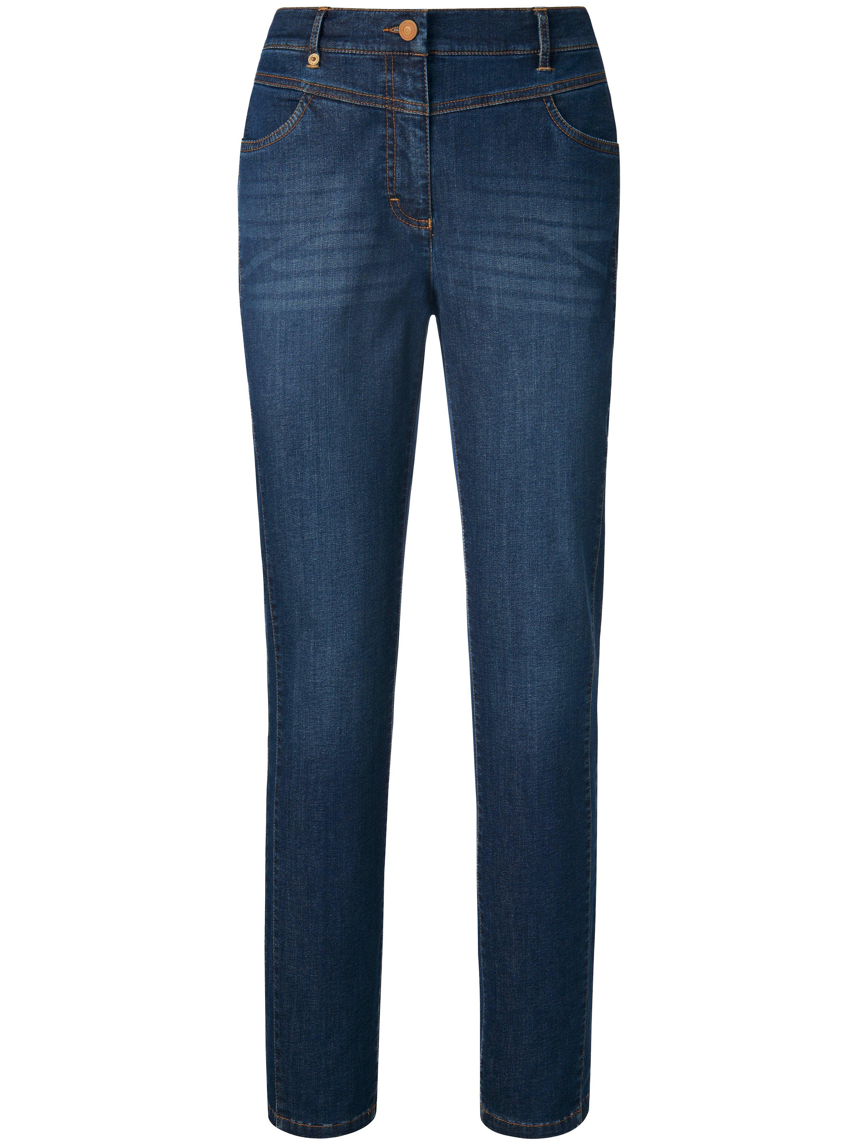 Enkellange thermo-jeans pasvorm Barbara Van Peter Hahn denim