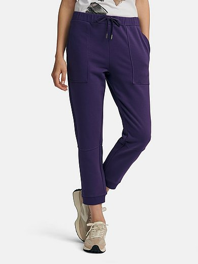 Margittes - Jersey slip-on trousers