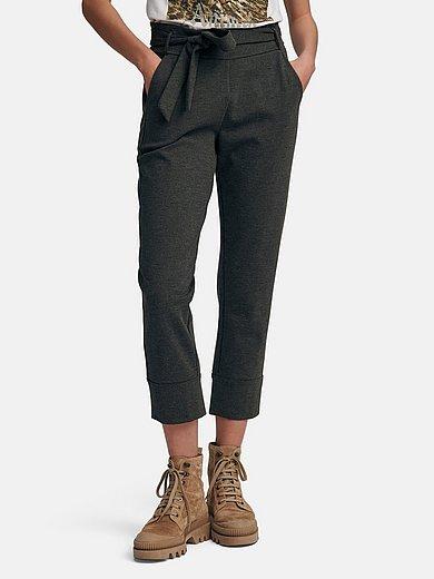 Margittes - Slip-on jersey trousers