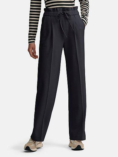 Windsor - Le pantalon à taille élastiquée 100% laine