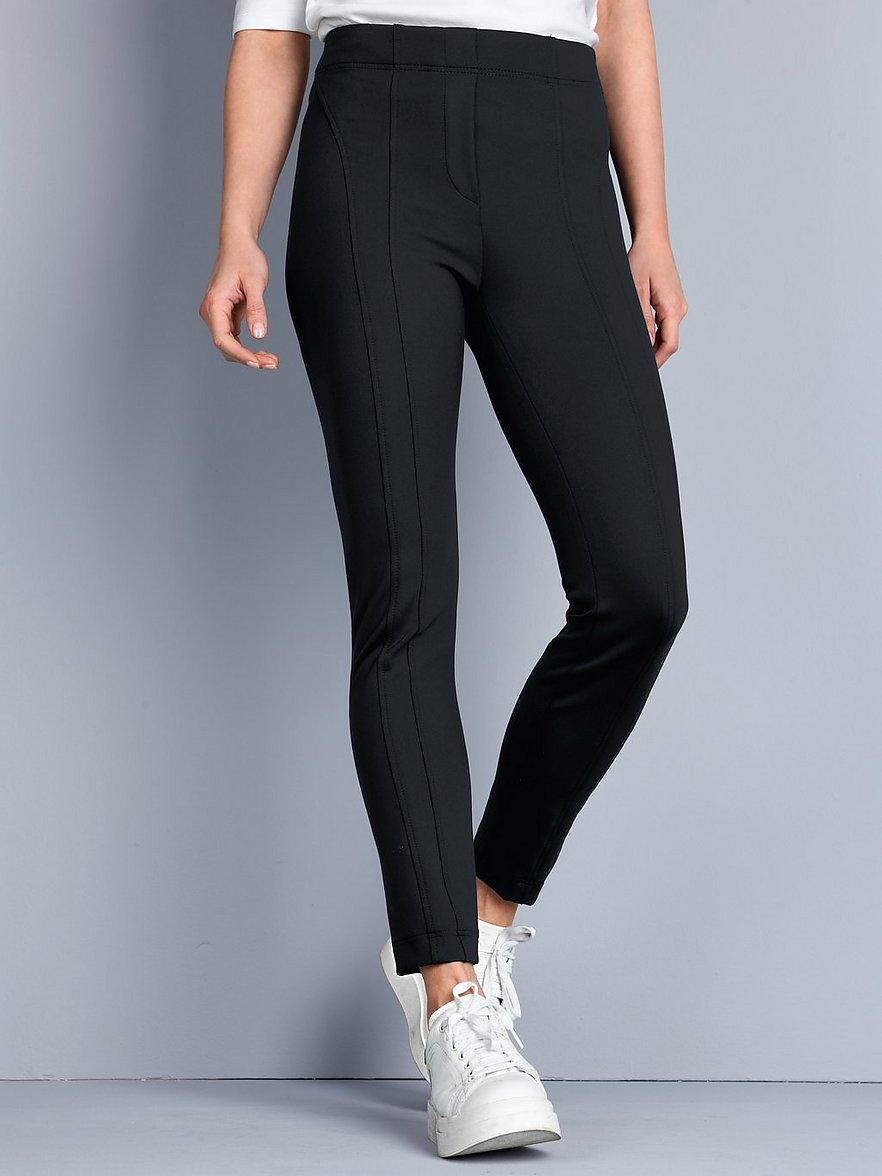 riani - Knöchellange Jersey-Jeggings  schwarz Größe: 38