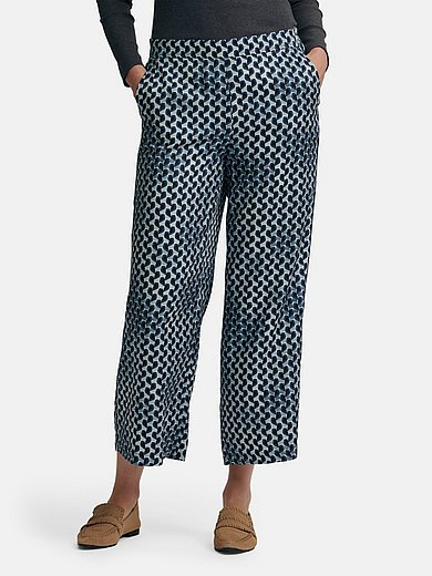 Gerry Weber - Jersey trousers with graphic print