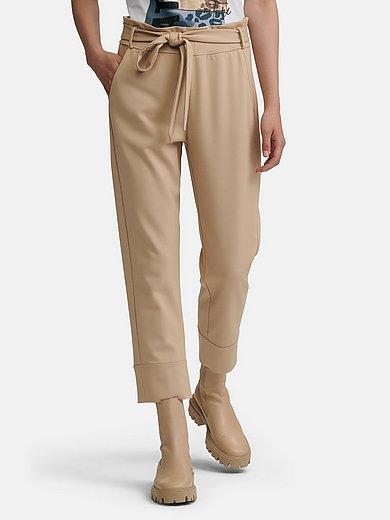 Margittes - Le pantalon 7/8 en jersey ceinture extensible