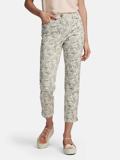 Toni - Slim fit 7/8-length trousers