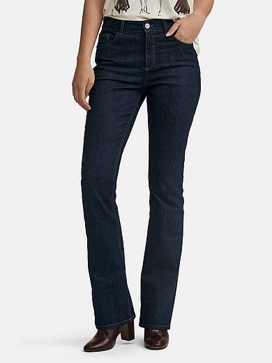 comma, - Jeans in 5-pocket style with slightly flared leg