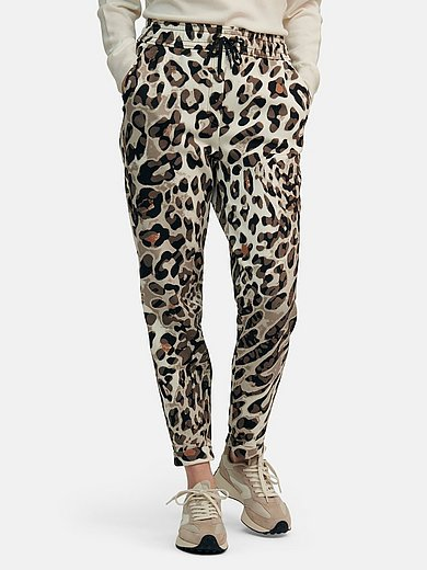 Marc Cain - Ankle-length jogger style trousers