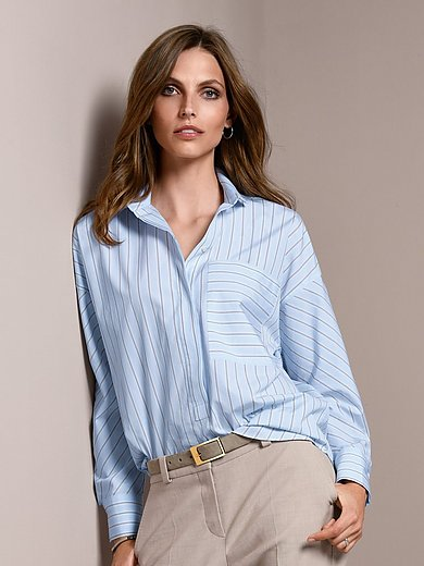 Windsor - Blouse with fold back cuffs