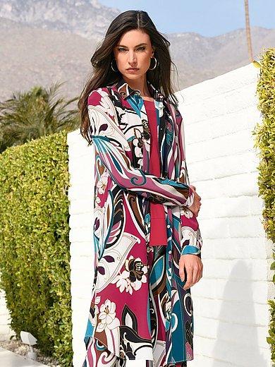 Laura Biagiotti Donna - Long-bluse af 100% silke
