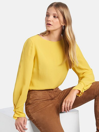 Fadenmeister Berlin - Pull-on style blouse in 100% silk
