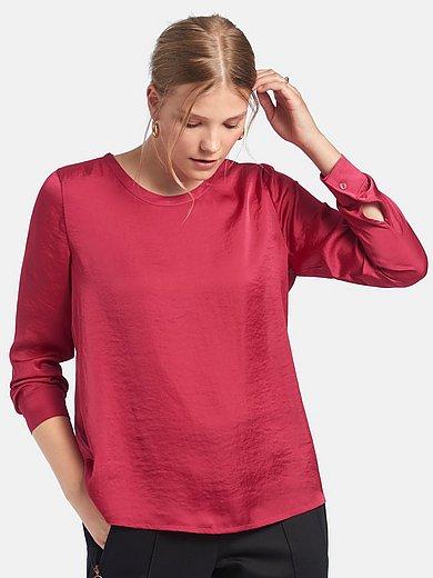 Peter Hahn - Shirt met lange mouwen en ronde hals