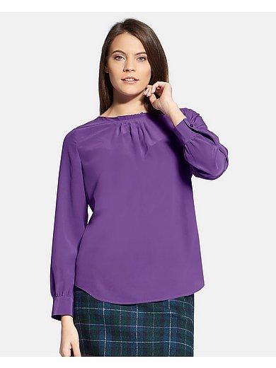 Basler - Slip-on blouse in 100% silk