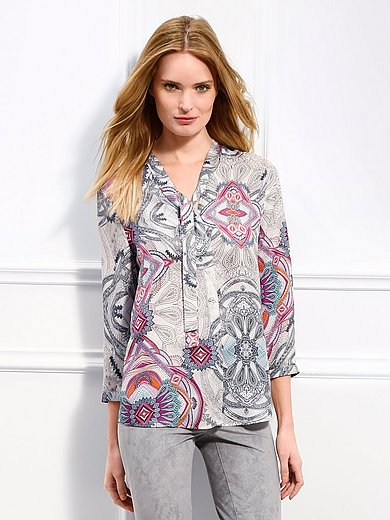 Basler - Blouse with 3/4-length sleeves