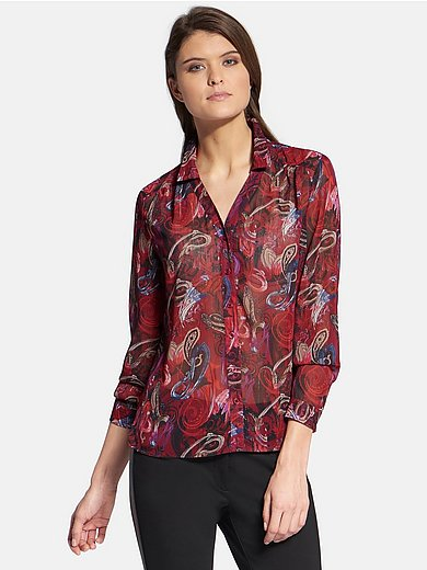 Basler - Blouse with ornamental print