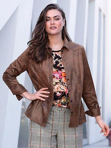 Emilia Lay - Fake-Leather-Hemd