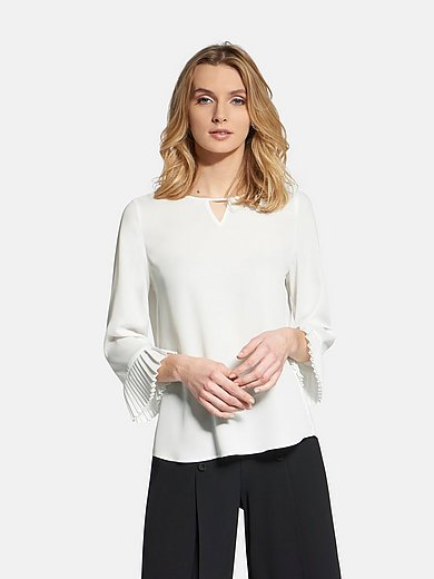 Basler - Slip-on blouse with 3/4-length sleeves