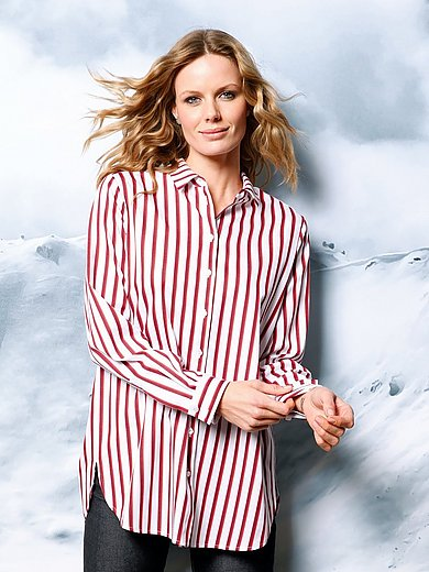 DAY.LIKE - Blouse with dynamic stripes