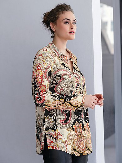 Emilia Lay - Blouse with ornamental print