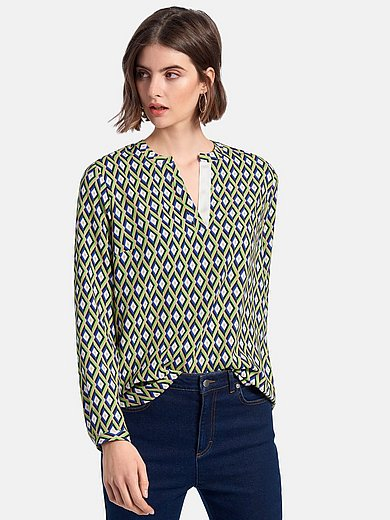 Looxent - Pull-on style blouse with long sleeves
