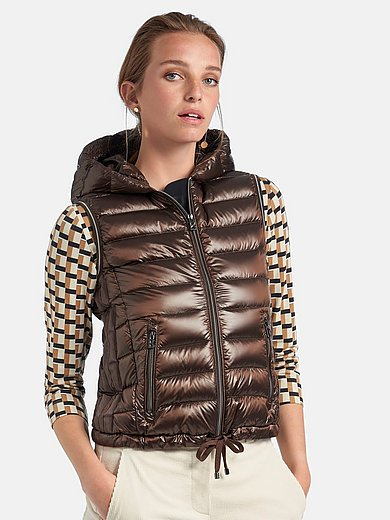 Bogner - Quilted gilet with hood